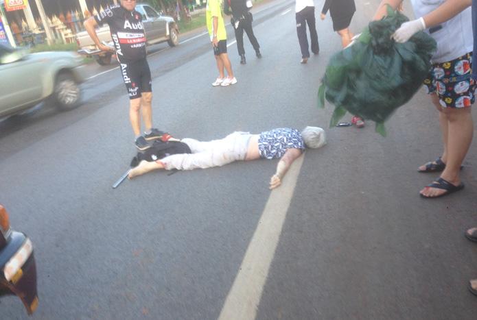 ชาวสวีเดนถูกรถชนดับ1