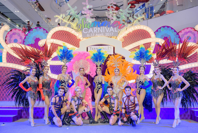 """เก็บตก! งาน """"Summer Carnival2017"""" ต้อนรับซัมเมอร์กับทัพคาบาเรต์ชื่อดัง พร้อมมินิคอนเสิร์ตสุดเอ็กคลูซีฟ"""