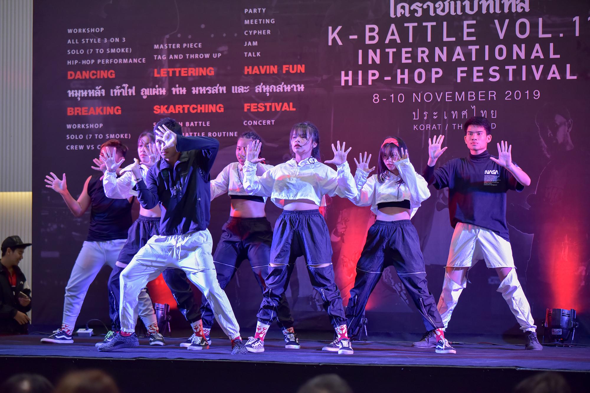 """ถูกใจขาโย่!..โคราชเตรียมจัดเทศกาลฮิปฮอปนานาชาติ """"K-BATTLE 2019"""" เวทีแลกเปลี่ยนวัฒนธรรมและกระตุ้นเศรษฐกิจระหว่างประเทศ"""